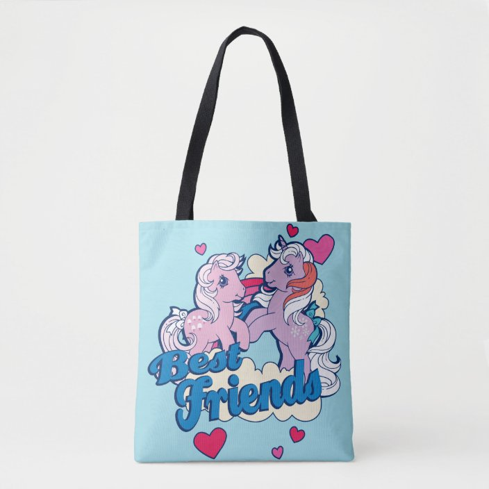 Sturdy My Li/'l Ponies Fabric Tote Bag For Children