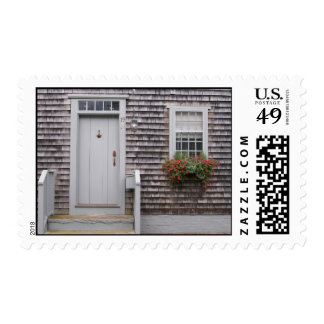 Classic Nantucket Cottage Postage Stamps