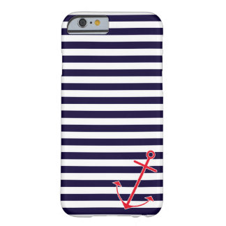 Classic Nautical Anchor Barely There iPhone 6 Case