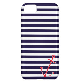 Classic Nautical Anchor Cover For iPhone 5C