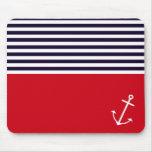 Classic Nautical Mouse Pad