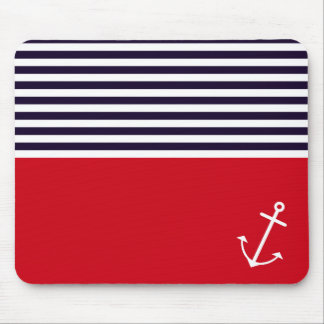 Classic Nautical Mouse Pad