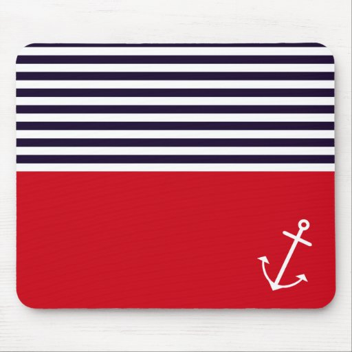 Classic Nautical Mouse Pads