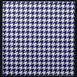 """Classic Navy Blue White Houndstooth Napkin<br><div class=""""desc"""">Classic Navy Blue &amp; White Houndstooth Pattern    A clean,  classic houndstooth pattern.  You can also add your own images and text if you so choose.    Want to see this design in other colors? Just drop us an email!     2013 &#169;FantabulousPatterns All rights reserved</div>"""