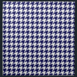 "Classic Navy Blue White Houndstooth Napkin<br><div class=""desc"">Classic Navy Blue &amp; White Houndstooth Pattern  
