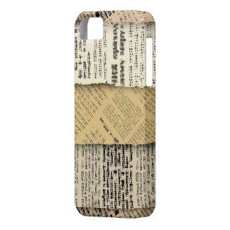Classic Newspaper mobile case