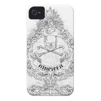 Classic Nineteen Spade iPhone 4 Cover