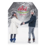 Classic Noel Christmas Photo Cards Personalized Invitation