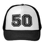 Classic Number 50 Trucker Hat