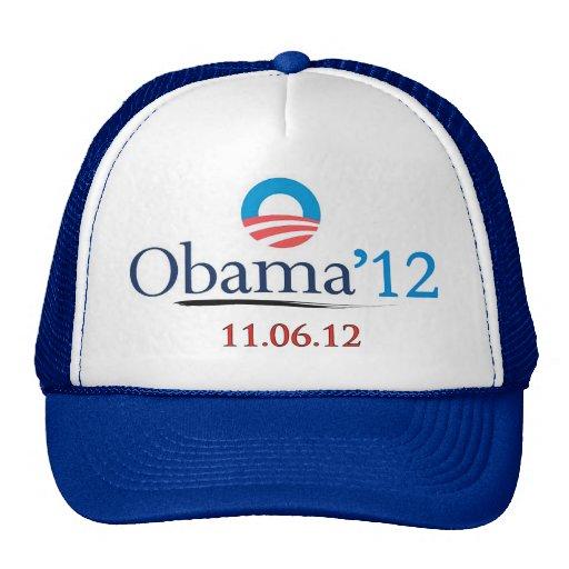 Classic Obama 2012 Trucker Hat