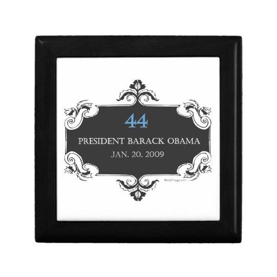 Classic Obama 44 Commemorative Gift Box (Black)