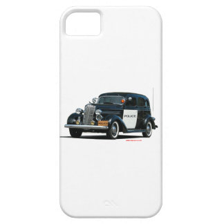 Classic_Old_Police_Car iPhone 5 Carcasa