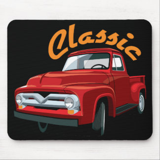 Classic Old Truck_2 Mousepad