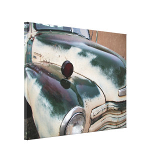 Classic old truck canvas print
