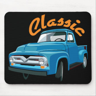 Classic Old Truck Mouse Pad