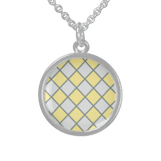Classic One Calm Sunny Round Pendant Necklace