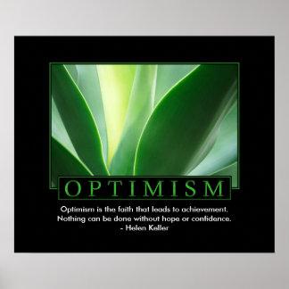 Classic Optimism Poster