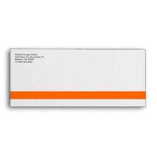 Classic Orange Divider 1 Envelop #10 Envelope