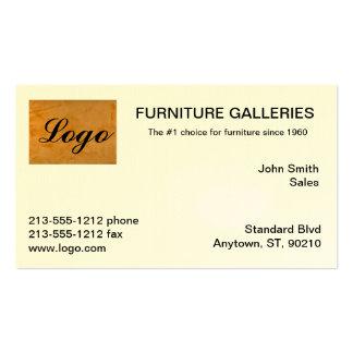 Classic Orange Logo Business Cards