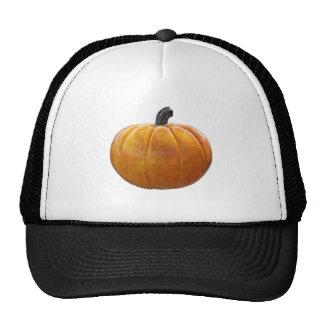 Classic Orange Pumpkin Trucker Hat