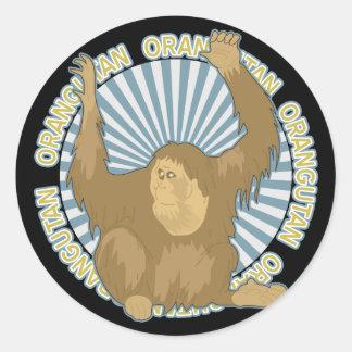 Classic Orangutan Stickers
