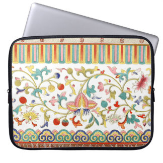Classic Oriental Colours Of Spring Laptop Sleeve