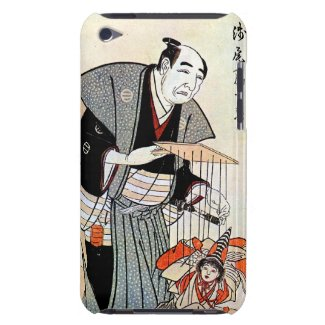 Classic oriental japanese puppeteer ukiyo-e art Case-Mate iPod touch case