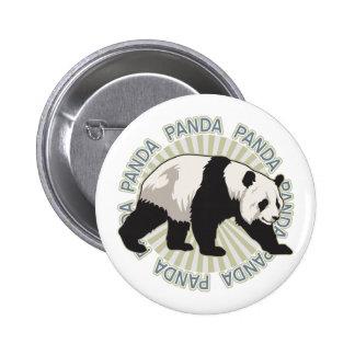 Classic Panda Bear Pinback Buttons