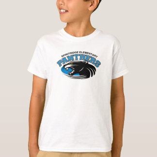 Classic Panther Kids Tee (White)