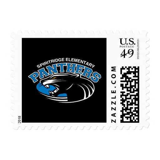 Classic Panther Stamp Sheet