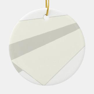 Classic Paper Aeroplane Ceramic Ornament