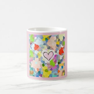 Classic Pastel Print Mug