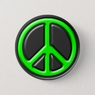 Classic Peace Sign Button