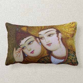 Classic Persian Art Throw Pillow