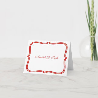 Classic Personal or Business Notecards
