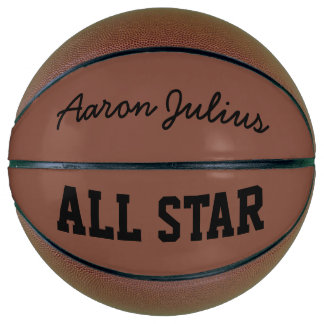 Classic Personalized Name Basketball Sports Gift