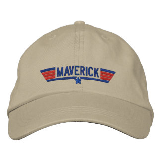 Classic Personalized Top Gun Maverick Your Text Embroidered Baseball Cap