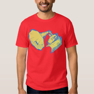 Classic Phonograph T Shirt Solid Yellow