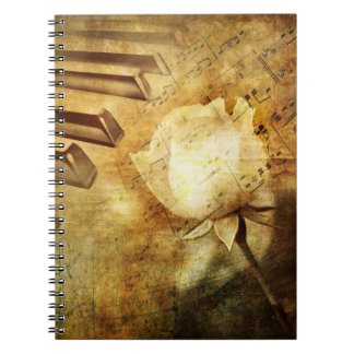 Classic Piano Melody Notebook