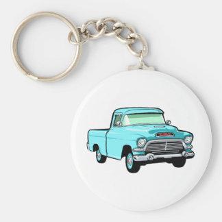 Classic Pickup Truck Keychain