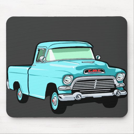 Classic Pickup Truck Mouse Pad