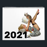 "Classic Pin Up Girls 2021 Calendar<br><div class=""desc"">❤All designed with love by WitCraft Designs™! Personalize your way 👌 Find and follow us on social media (ⒻⓅⓉ) 📷 TAG #witcrafting and share your purchases on social media with us!! You can connect to all my social media accounts at www.witcraft.com Visit my designer profile to see all my shops...</div>"