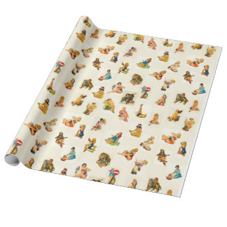 Classic Pin-up Wrapping Paper