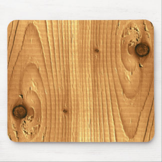 Classic Pine Untreated Wood Mouse Pad