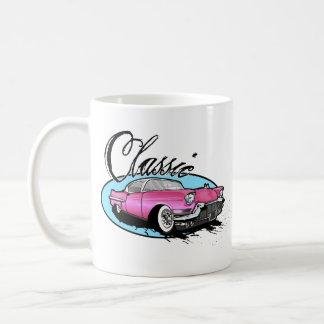 Classic Pink Cadillac Classic White Coffee Mug