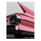 Classic Pink Cadillac Postcard