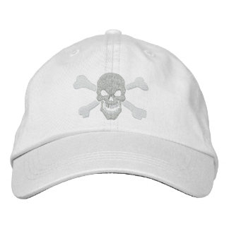 Classic Pirate Crossbones Skull Embroidery Embroidered Baseball Hat