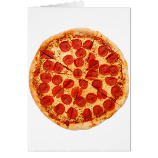 classic pizza lover card