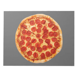 classic pizza lover notepad