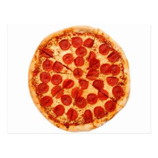 classic pizza lover postcard